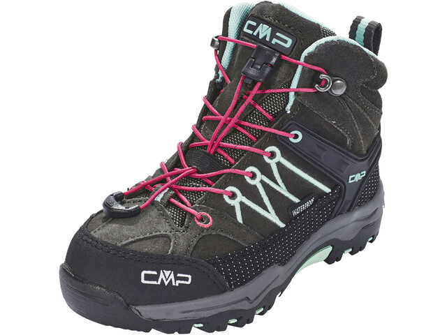 CMP Campagnolo Rigel Mid WP Trekking Shoes Barn arabica-sky light